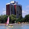 3 csillagos Hotel Marina Balatonfüreden közvetlenül a vízparton helyezkedik el Hotel Marina*** Balatonfüred - Akciós all inclusive hotel Balatonfüreden - Balatonfüred